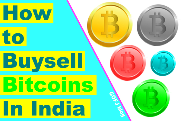 Buy sell Bitcoins in India