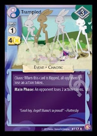 My Little Pony Trampled Absolute Discord CCG Card