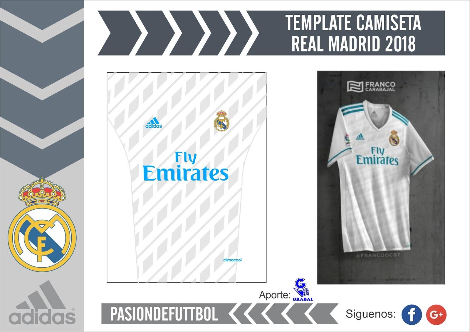Diseños, Vectores y Templates para Camisetas de Futbol: TEMPLATE ...