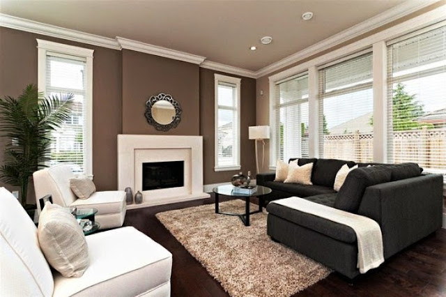 paint colors for living room accent walls