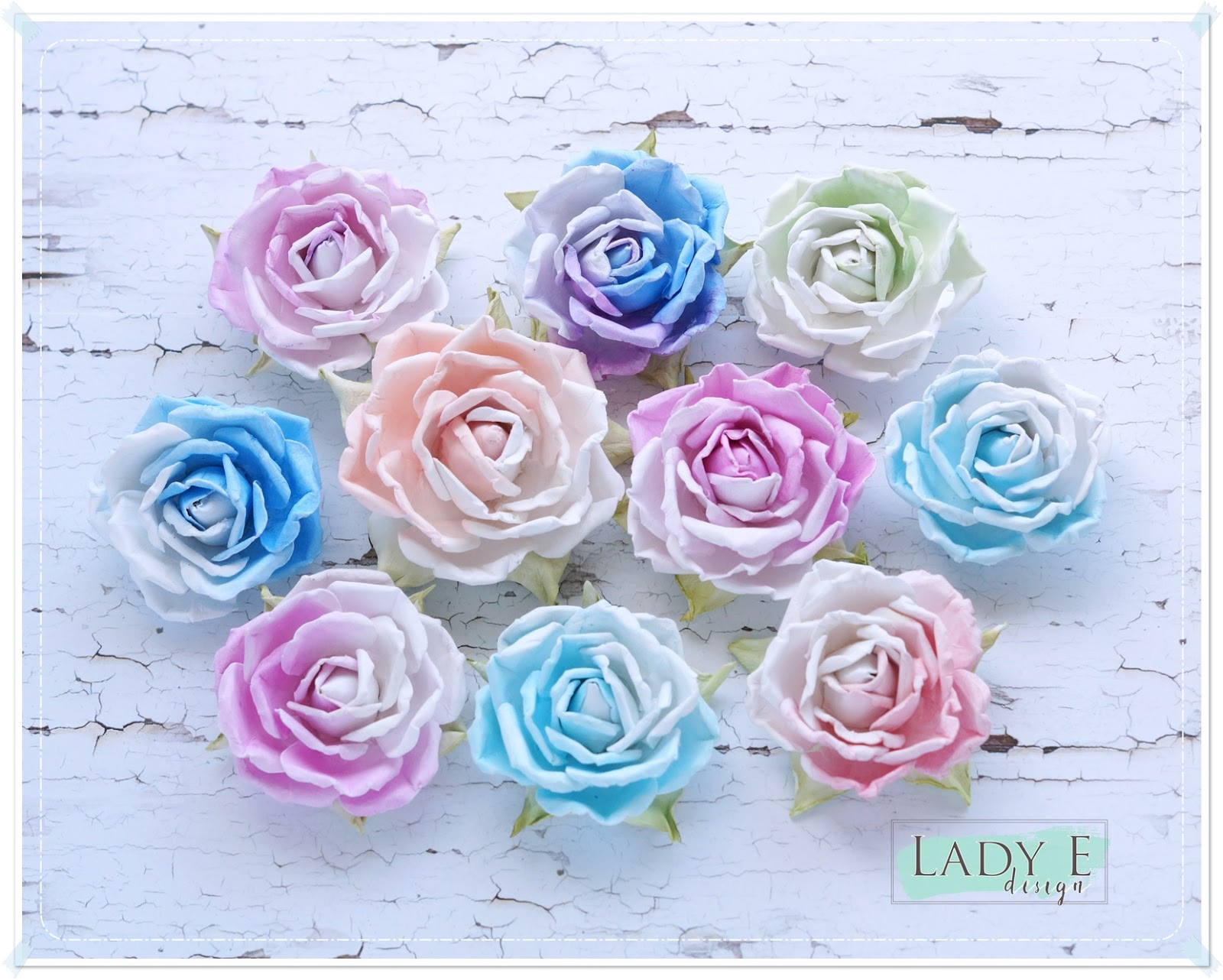 Perfect Paper Roses Video Tutorial Scrap Art By Lady E