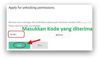cara unlock (ubl) xiaomi