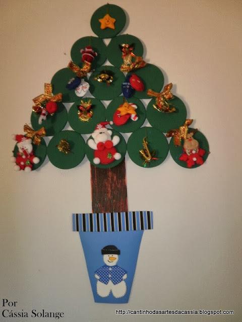 Sugestões de Árvores de Natal feitas com cd e dvd usados
