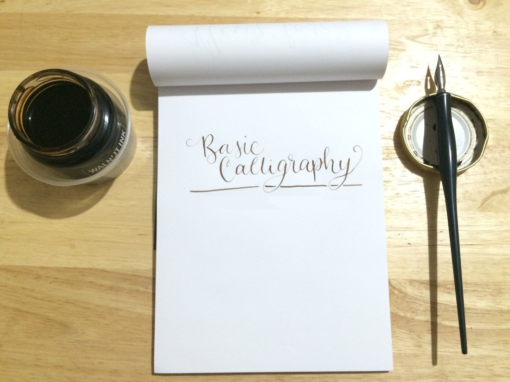 Basic Calligraphy Tutorial For Beginners