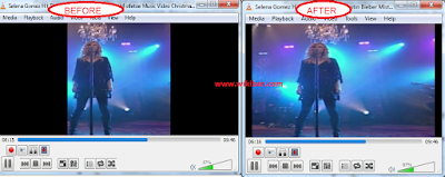how to adjust screen size of your video in vlc