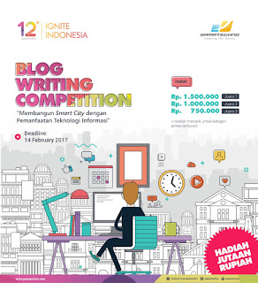 Blog Writing Competition Gamatechno 2017