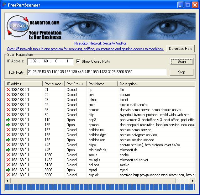 free port scanner 2 8 7 portable portable apps