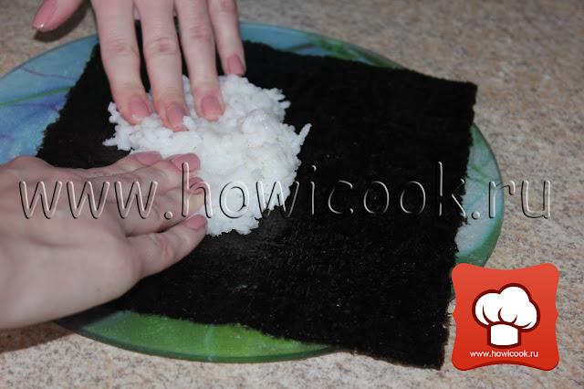 рецепт как приготовить суши в домашних условиях с фото