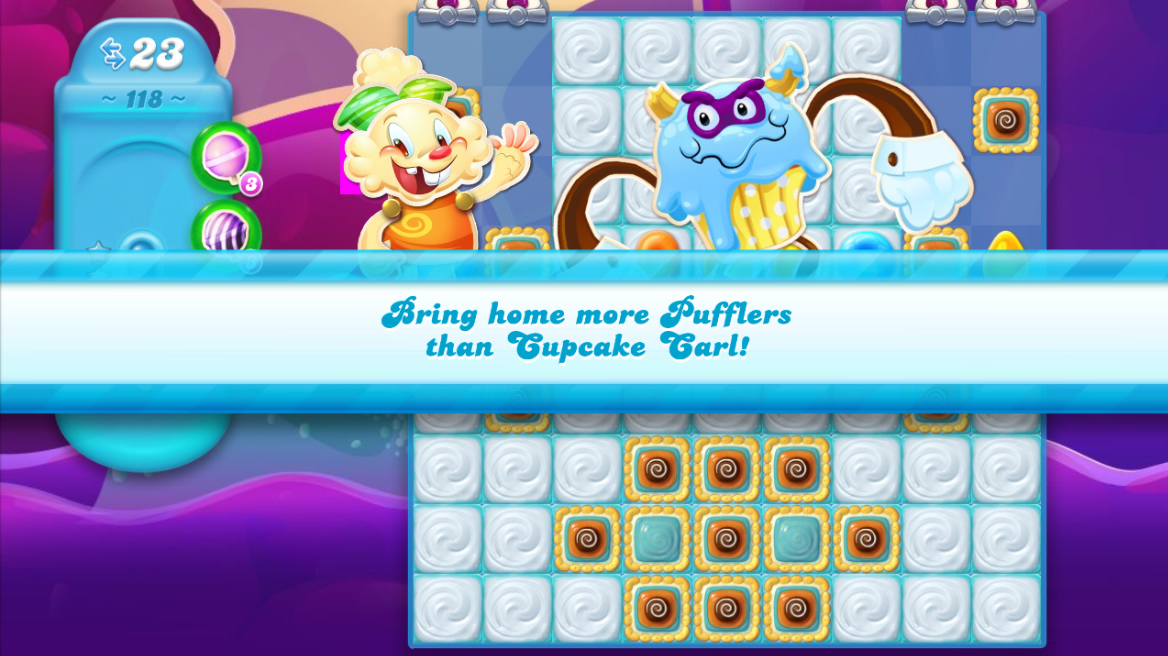 Candy Crush Jelly Saga 118