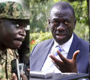 Major General Peter Elwelu warned retiring General against joining Besigye threatened to hunt for them in case they do so