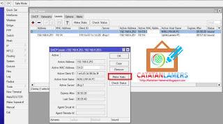 Skenario 3 - Manajemen Bandwidth untuk user Hotspot yang di ByPass/Binding