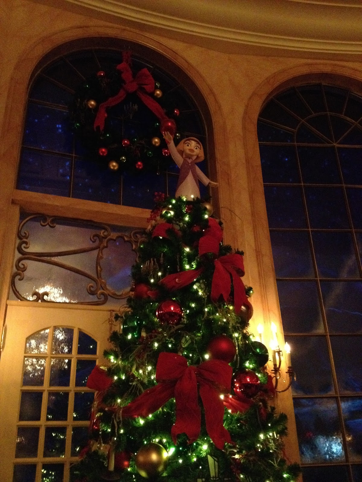 be our guest restaurant disney springs - Disney Beauty And The Beast Christmas Decorations
