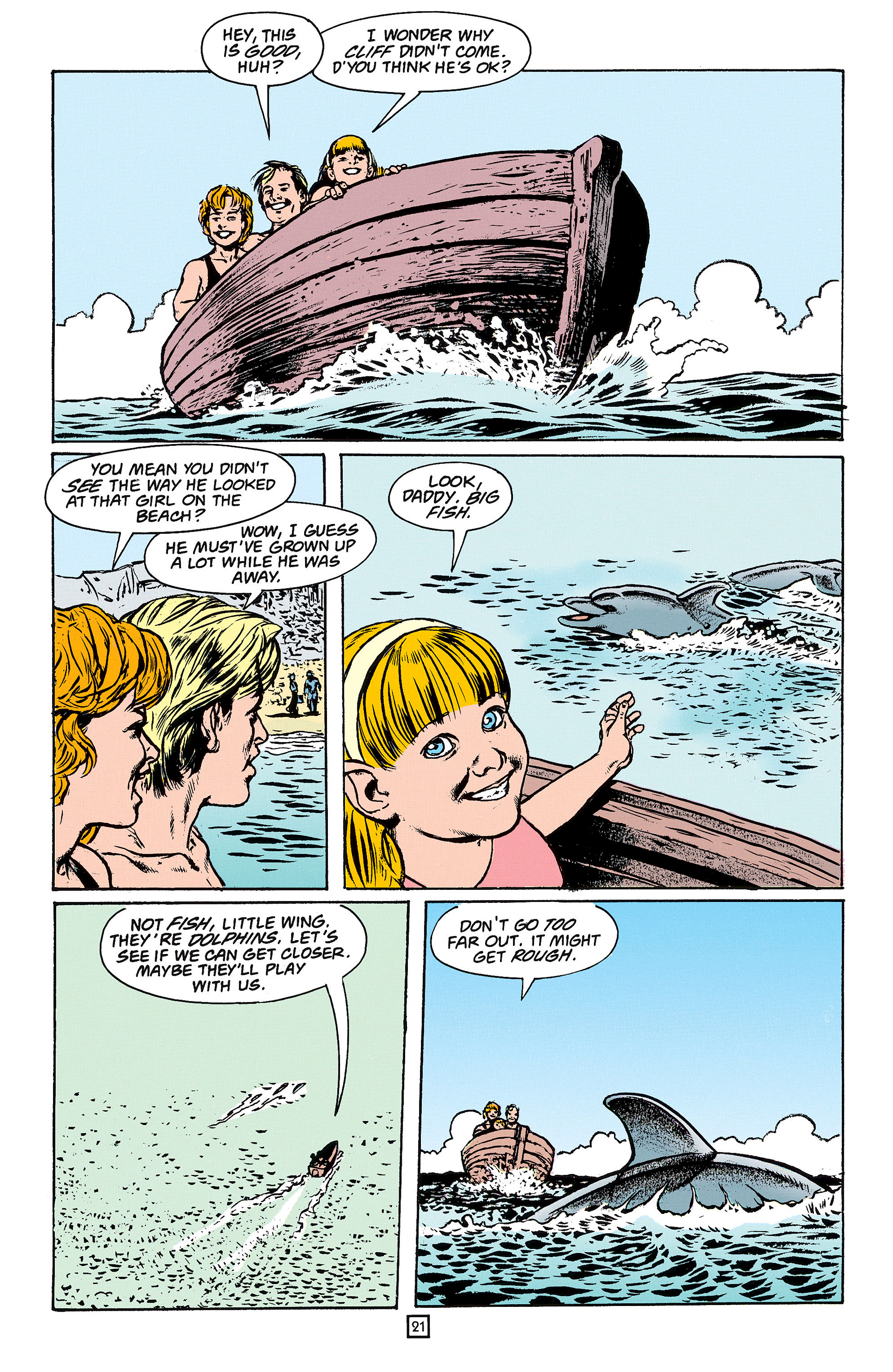 Read online Animal Man (1988) comic -  Issue #61 - 22