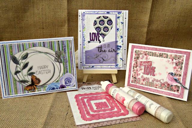 trio of cards tracee provis bo bunny secret garden vellum paper 01