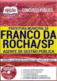 Download Apostila Prefeitura de Franco da Rocha 2019 PDF