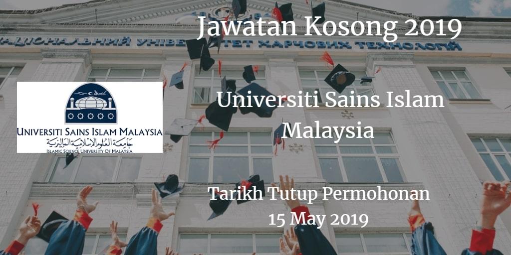Jawatan Kosong USIM 15 May 2019
