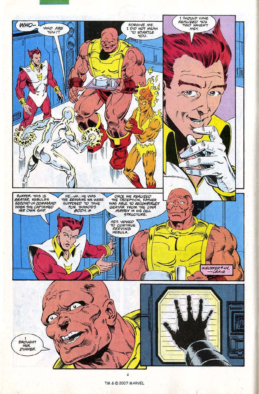 Read online Silver Surfer (1987) comic -  Issue #67 - 6