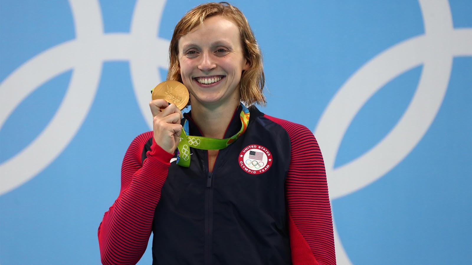 Katie Ledecky Gold