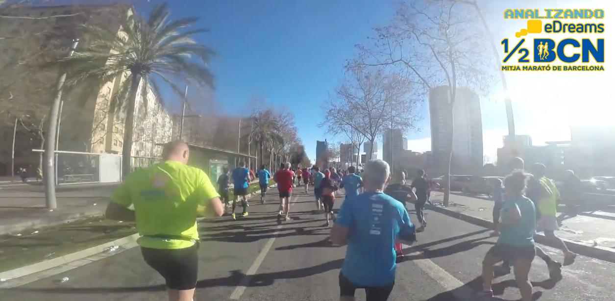 Analizando eDreams Mitja Marató Barcelona 2017