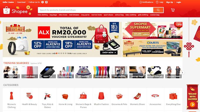 Peluang Menang Pelbagai Hadiah Berjumlah Lebih 1 Juta Dengan Kempen 'Wang Bersama Shopee'