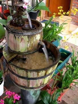 kasiyanta blog: air mancur & kolam ikan sebagai terapi