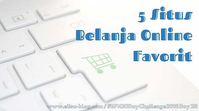 5 Situs Belanja Online Favorit