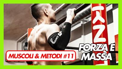 scheda aumento massa muscolare miletto