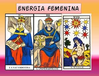 La Sacerdotisa, La Emperatriz y La Estrella