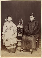Two Chinese women in the 1800s