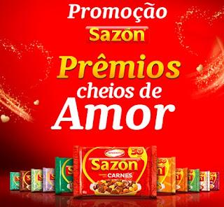 Promoção Sazon Prêmios Cheios de Amor
