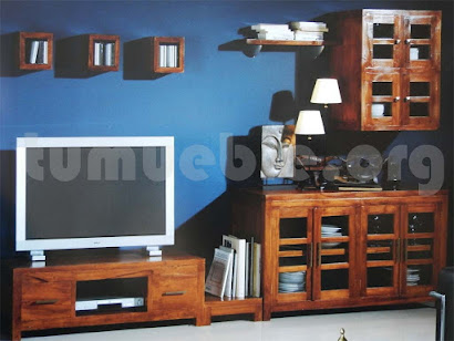 mueble modular en teca 9