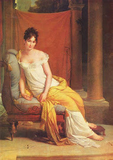 François Gérard (1770-1837) - Portrait de Juliette Récamier - Entre 1802 et 1805 - Paris, Carnavalet.