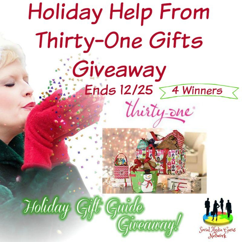 Holiday Help From Thirty One Gifts