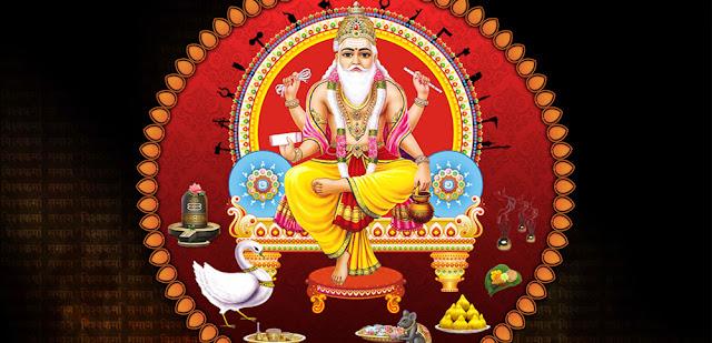 Best Lord Vishwakarma  Wallpaper In Black Background