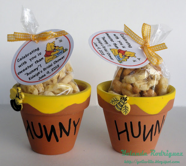 Yolieville Bridal Shower Favor Part 2 - Winnie Pooh