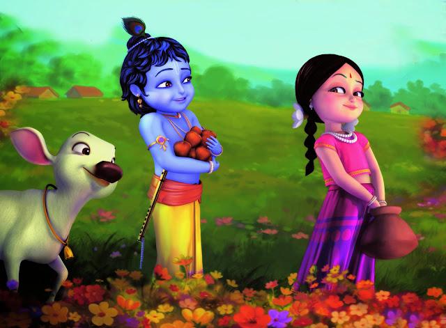 Best Radha & Krishna Clipart HD Wallpaper