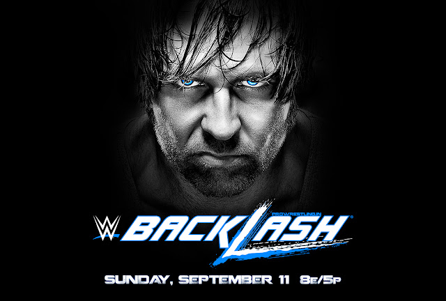 "WWE ""Backlash 2016"" Official HQ Wallpaper Download (feat. Dean Ambrose)"