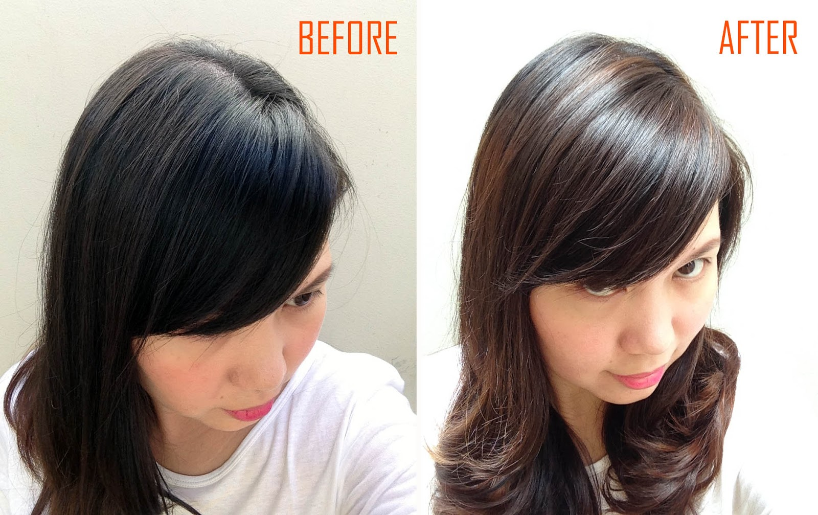 Mrsmommyholic diy balayage highlights able to lighten my hair while giving it subtle highlights basically i didnt want it to be one even color all throughout so i think i achived that solutioingenieria Image collections