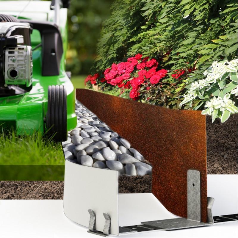 Choisir vos bordures de jardin pour votre robot tondeuse for Bordure pour jardin