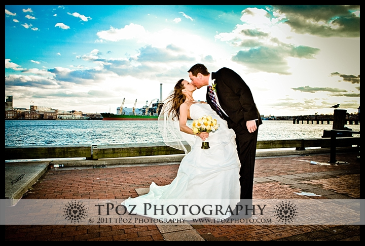 Fells Point Wedding Photo