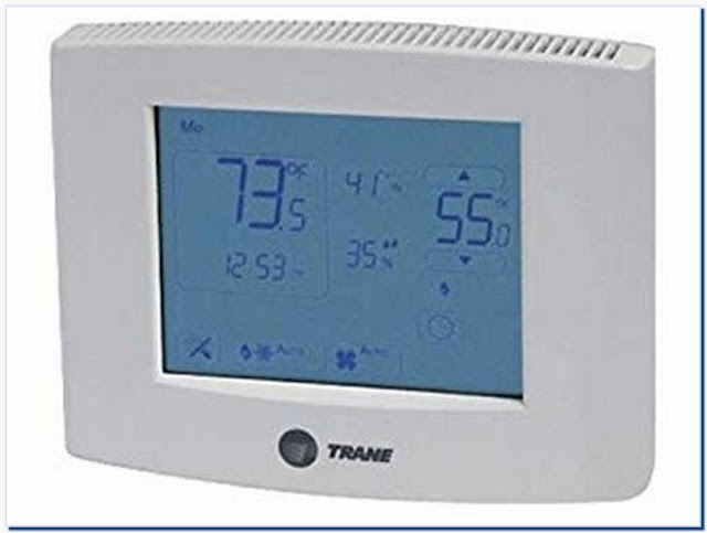 Trane Commercial Thermostat Unlock