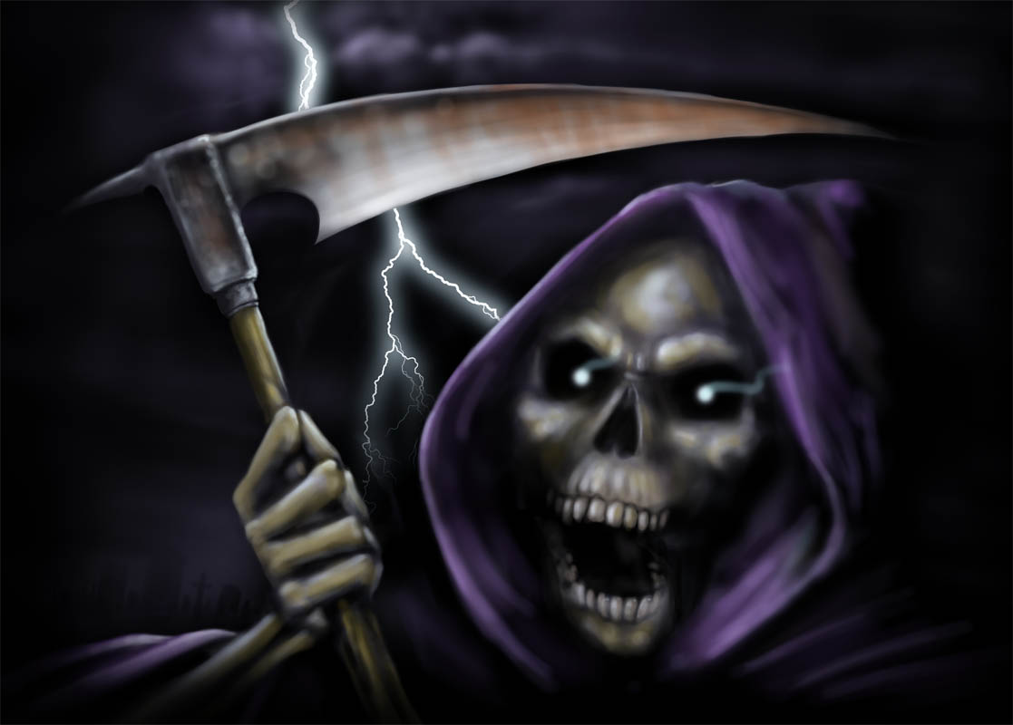 Free Halloween Wallpapers - mmw blog: Grim Reaper Wallpapers