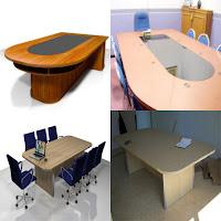 Contoh Desain Meja Rapat Semarang Conference Table - Furniture Semarang