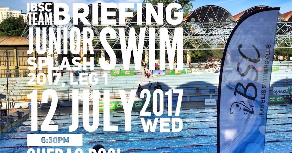 Ikan Bilis Swimming Club 1971 Kl Ibsc Team Briefing Asum Nsc Milo Junior Splash Swim 2017