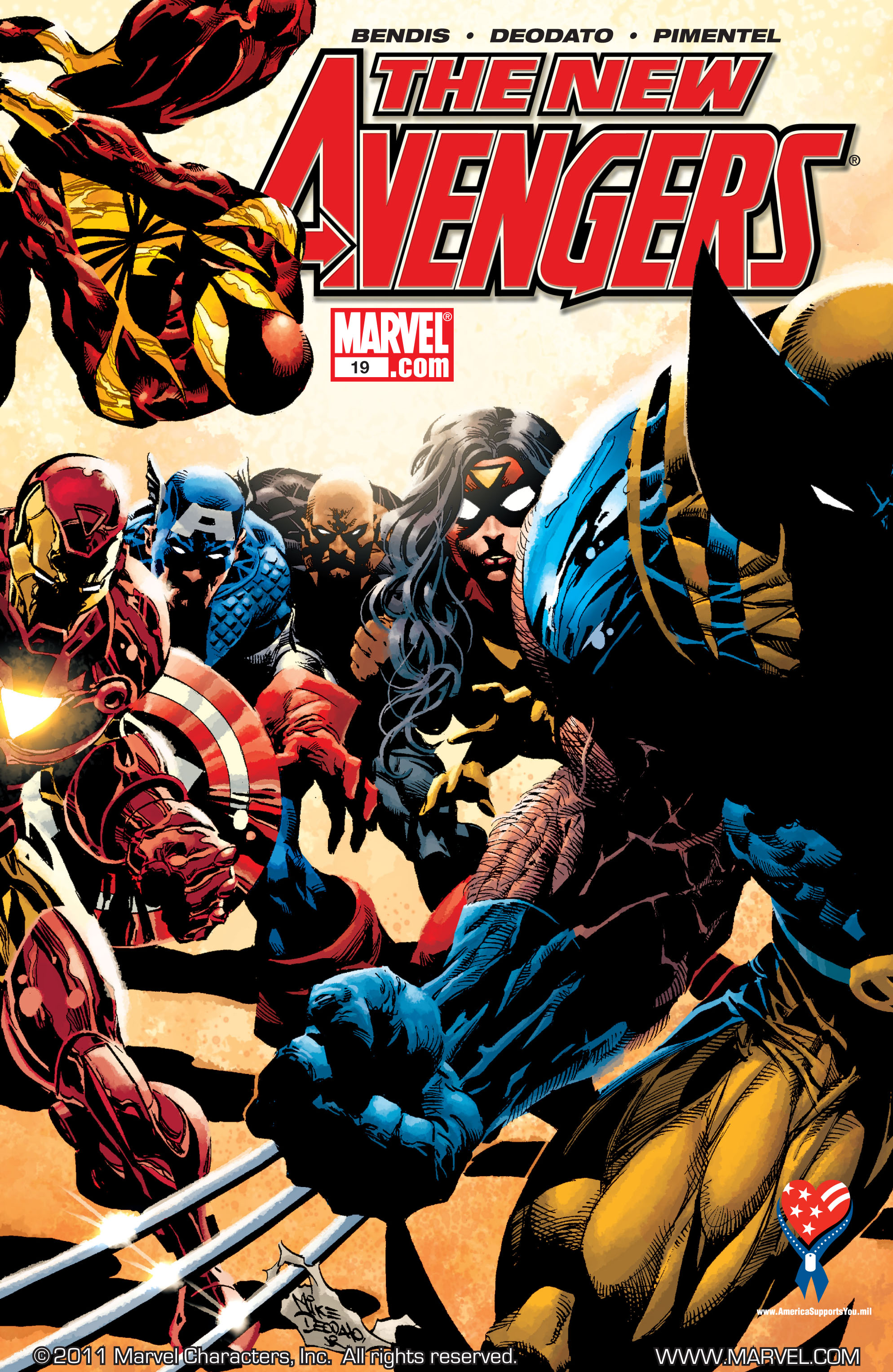 New Avengers (2005) issue 19 - Page 1