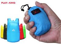 Складной рюкзак Play-King, объём 20 литров, вес 75 грамм, водонепроницаемый
