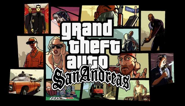 تحميل لعبة جاتا سان اندرس 2018 للكمبيوتر والموبايل الاندرويد Download gta san andreas 2018 برابط واحد مباشر
