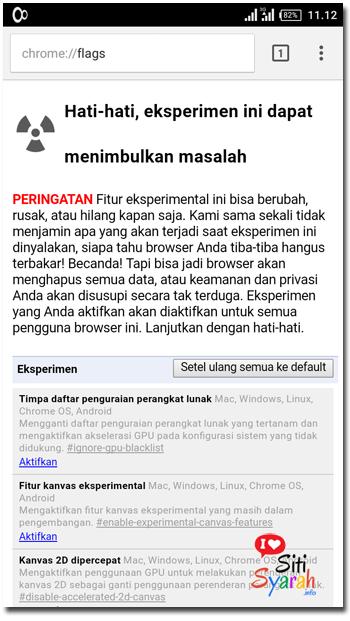 Inilah Cara Mempercepat Google Chrome Android