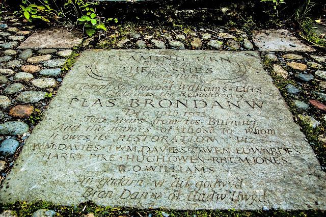 Plas Brondanw stone slab copyright @ sightseeingshoes