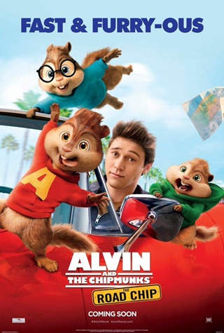 Alvin and the Chipmunks 4: The Road Chip DVDRip Latino